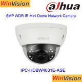 Macchina fotografica Ipc-Hdbw4631e-Ase del IP di Poe Dahua dell'allarme della cupola di Dahua 6MP audio