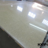 Brames artificielles blanches de pierre de quartz de Kingkonree