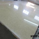 Quartz blanc Kingkonree prix d'usine artificielle de dalles de pierre