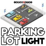 Nuovo kit di modifica elencato dell'indicatore luminoso del parcheggio di arrivo ETL LED 360 watt
