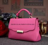 Het fabriek Aangepaste Leer van de Zakken Pu van de Manier van het Embleem Dame Handbags