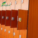 Vier Korn-Farben-Schließfach der Tür-HPL hölzernes mit Digital-Verschluss