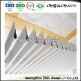 Facile à nettoyer l'écran du panneau en aluminium suspendu les dalles de plafond à la norme ISO9001