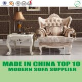 Fantastisches Samt-Gewebe-neoklassische Wohnzimmer-Sofa-Möbel