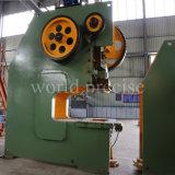 Máquina-instrumento J23 máquina excêntrica da imprensa de potência mecânica da máquina de perfuração do metal de um C de 80 toneladas