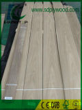 0.5mmの厚さAAAの家具のための王冠によって切られる黒いクルミのベニヤ