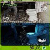 Colorare l'indicatore luminoso ricaricabile impermeabile cambiante di notte della toletta del sensore di movimento 1W del USB di illuminazione
