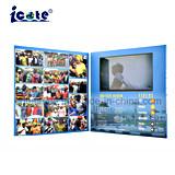 Настраиваемые печать 7 дюйма ЖК-бизнеса Видео карты различных видео брошюра