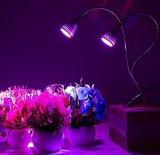 LED는 빛, 7W 책상 클립 플랜트를 증가한다 360&deg에 가볍게 증가한다; 실내 플랜트 수경법 온실 원예식물을%s 유연한 거위 목 모양의 관과 봄 죔쇠
