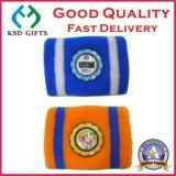 コンパスとの昇進のための良質の綿のテリーの手首のSweatband