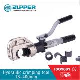 Herramientas que prensan hidráulicas para prensar el rango 16-400mm2 (HT-400)