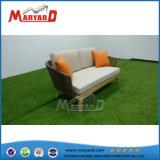 Colorido tira al aire libre teca sofá