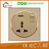 Interruttore chiaro della parete 20A 1 di modo elettrico del gruppo 1