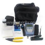 Kit de herramienta óptico visual óptico de fibra de la cuchilla FTTH de la fibra del localizador del incidente del contador de potencia