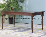 단단한 나무로 되는 식사 책상 거실 가구 (M-X2368)