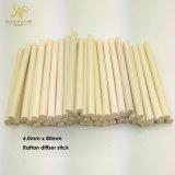 Qualität 6.0mm x 80mm natürliches weißes Rattan-REEDbambusstock für Auto-Diffuser (Zerstäuber)