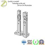 Guia de pilão com peças em alumínio de moagem de usinagem CNC