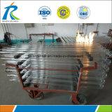Les meilleurs tubes Od125-150mm de quartz de Dimeter de four de tube de qualité grands