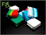 Контейнер воска силикона крышки китайского силикона качества еды поставщика Non-Stick соединиенный