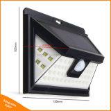 44LED PIR 운동 측정기 태양 강화된 옥외 LED 정원 빛