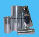 Película metalizada plata de BOPP para la cara radiante de la barrera del aislante