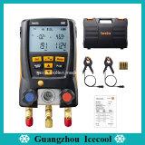 60 réfrigérants Testo originale550 Digital manomètre du collecteur à 2 voies avec deux collier de serrage des sondes de température testo 550 No. 0563 1550