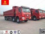 HOWO Sinotruck 371 8X4 50 tonnes de lourdes Dump/camion à benne basculante