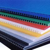 feuille ondulée solide de feuille de cavité de polycarbonate de 6mm pour la toiture de lucarne