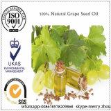 Huile de graines liquide jaune-clair pure normale de raisin de 100%