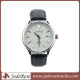 Horloge van het Leer van het Horloge van de Dames van het Horloge van het Roestvrij staal van het Polshorloge van het Horloge van de manier het Nieuwe