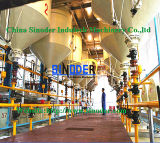 Fractionnement traitant pour le matériel brut de raffinage d'huile de palmier