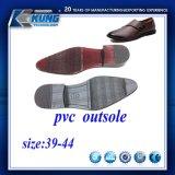 人の革靴のための標準的なデザインPVC Outsole