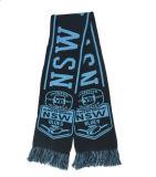 Шарф футбола шарфа Knit клуба шарфа вентилятора с подгонянным логосом
