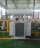 transformateurs remplis d'huile de distribution Pôle de support triphasé de 11kv/0.4kv