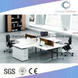 Foshan Estación de trabajo de oficina de la Cruz muebles con cajones (CAS-W1897)