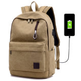 Мешок портативного компьютера холстины вскользь типа/милый Backpack /School Backpacks