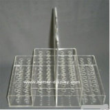 カスタム明確なアクリルの水晶ペンのホールダー