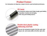Coeurs de 2-144 intérieure ou extérieure du câble à fibre optique