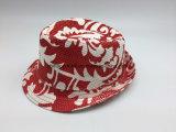 Papier impression complète Fedora chapeaux de paille (SSPC7074X)