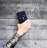 プラスプラスiPhone 7/7及び8/8のためのリングのホールダーが付いている個人化されたBullの電話箱