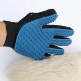 Neuer Entwurf Deshedding Pinsel-Handschuh für Hund und Katze