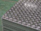 het Blad van het Aluminium van de Breedte van 1200mm met het Patroon van 5 Staven
