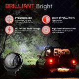 새로운 디자인 4inch 30W 4X4 까만 LED 반점 차 빛