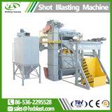 Tipo d'acciaio d'alimentazione automatico macchina del cingolo di granigliatura con lo SGS