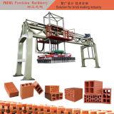 Faisceau de treillis verticale de brique tirée Réglage machine à fabriquer des briques de la machine