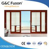 中国PVC内部の引き戸木製カラー前部ガレージの外部ドアデザイン
