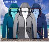 2017 de la montaña al aire libre Deporte Senderismo Rainproof Sun-Protection chaquetas de piel