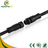 Connecteur imperméable à l'eau du fil IP67 automatique fait sur commande du nylon PA6 pour le réverbère de DEL