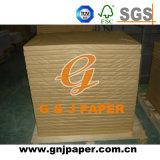 24.5*36inch 115GSM 130GSM 150GSM Kunstdruckpapier für Afrika-Markt