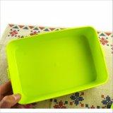 Doos van de Lunch van de Container van het Voedsel van de Doos van Bento de Plastic met Vork en Lepel 20010